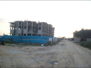 Pareena laxmi apartments under construction